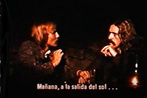 """Escena de""""La intrusa"""" (1979), película de Carlos Hugo Christensen basada en el cuento homónimo de Borges"""