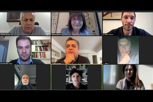 Los principales referentes de Juntos por el Cambio participaron de una videoconferencia para poner paños fríos en el clima de confrontación dentro de la coalición opositora durante la campaña.