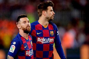 Piqué recordó muy bien a Lionel Messi (Fuente: AFP)