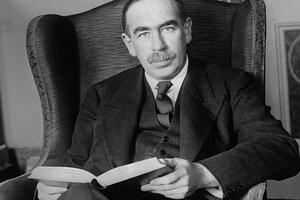 El economista inglés John Maynard Keynes.