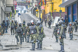 Los golpistas bolivianos recibieron ayuda del gobierno de Macri. (Fuente: AFP)