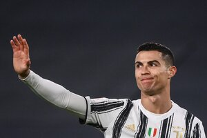 El 'addio' de Cristiano (Fuente: AFP)