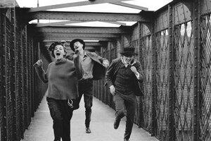 Jules y Jim, en la lente deRaymond Cauchetier.