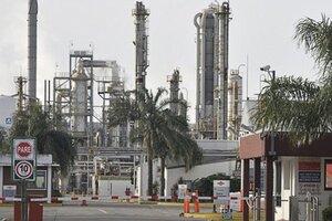 La multinacional Dow Chemical, radicada en Puerto San Martín, Santa Fe.