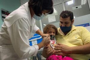 Hito sanitario en Cuba (Fuente: AFP)