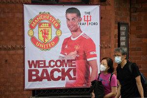 Gran expectativa en Manchester por la vuelta de CR7 (Fuente: AFP)