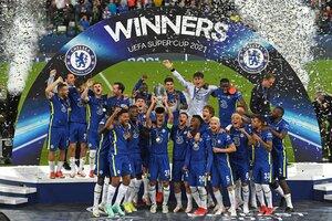 El Chelsea ganó la edición 2021 ante el Manchester City de Guardiola (Fuente: AFP)