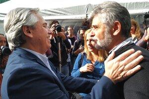 Daniel Filmus junto a Alberto Fernández, quien decidió nombrarlo ministro de Ciencia y Tecnología.