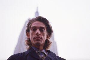 Federico Moura en Nueva York, marzo de 1987