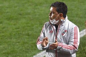 Marcelo Gallardo, DT de River Plate. (Fuente: Fotobaires)