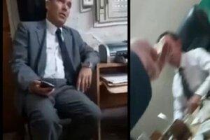 Capturas del video viralizado