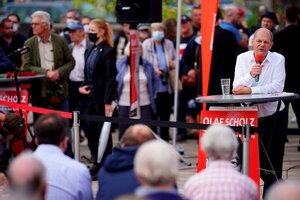 El socialdemócrata Olaf Scholz encabeza las encuestas. (Fuente: EFE)