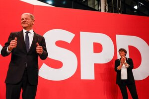 Ajustado triunfo de los socialdemócratas en Alemania.