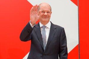 Olaf Scholz, el socialdemócrata que ganó las elecciones en Alemania y se perfila como sucesor de Ángela Merkel. (Fuente: EFE)