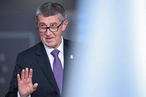 Babis, apodado el Donald Trump checo, aspira a la reelección. (Fuente: AFP)