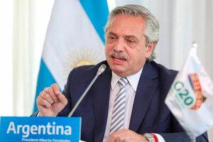 Fernándezsugirió la posibilidad recibir a exiliados y refugiados de Afganistán en la Argentina. (Fuente: Presidencia)