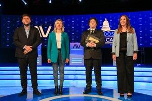 Los principales candidatos a diputados nacionales por la Ciudad de Buenos Aires se reunieron este miércoles para protagonizar el primer debate televisivo.