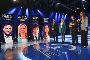 """El """"debate capital"""" reunió a los candidatos."""