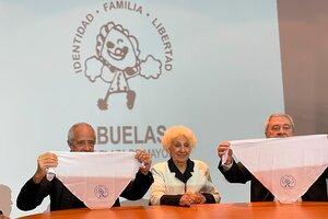 Estela de Carlotto junto a los presidentes de River y Boca (Fuente: Prensa Boca)