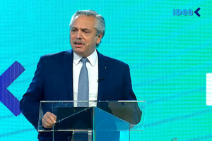 Alberto Fernández cerró el 57º coloquio de IDEA.