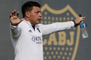 Battaglia, DT de Boca Juniors