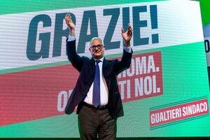 Roberto Gualtieri, nuevo intendente de Roma. (Fuente: EFE)