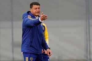 Battaglia mantiene una incógnita con el once inicial: el pibe Molinas (Fuente: Foto Prensa Boca)