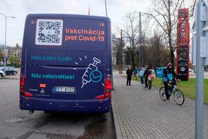 Los casos se han disparado en las últimas horas en la nación báltica. (Fuente: EFE)