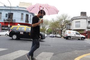 Recién el domingo mejoraría el tiempo en el AMBA. (Fuente: Leandro Teysseire)