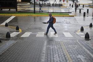 El clima este sábado en la Ciudad de Buenos Aires estará inestable y con lluvias. (Fuente: Sandra Cartasso)