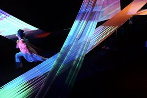 """""""Iluminación profana"""", de Victoria Keriluk y Laura Paolino, en categoría Performance."""