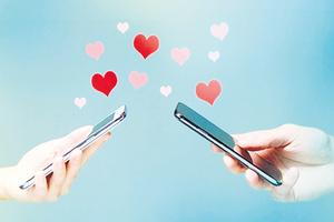 El miedo y la ansiedad aumentan el contenido erótico de los intercambios en las apps de citas. (Fuente: AFP)
