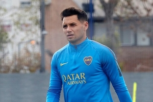 Zárate sufrió varias lesiones en los últimos meses. (Fuente: Prensa Boca)