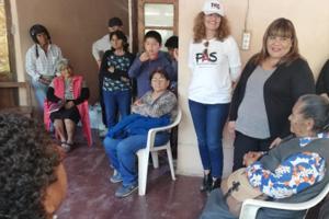 Presentación del PAS en un Centro de Jubilados