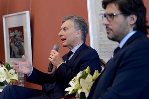 Mauricio Macri y Germán Garavano, dos a juzgarse.