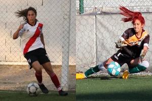 Camila Godoy y Stephanie Rea, futbolistas y habitantes de la 31.
