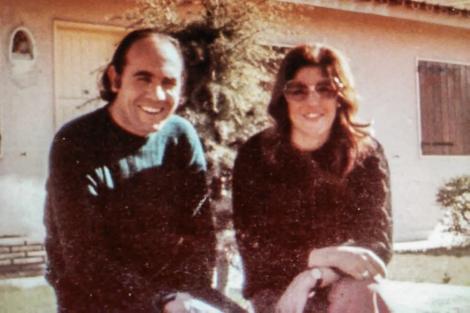 Eduardo Requena y Soledad Edelweis García, en una de las pocas fotos que se conservan de la pareja.