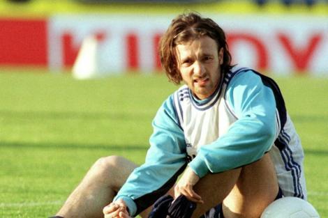 Christophe Dugarry fue parte del campeón del Mundo en Francia '98.