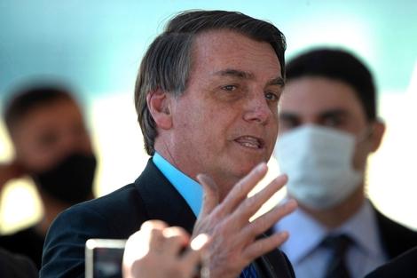 El presidente de Brasil, Jair Bolsonaro. (Fuente: EFE)