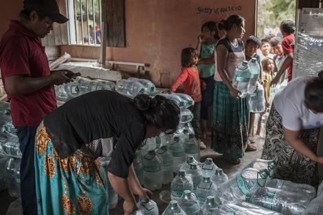 La falta de agua, un problema que subsiste en el norte (Fuente: Adrián Pérez)
