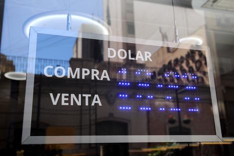 La paridad cambiaria es una de las principales variables de la economía argentina. (Fuente: Guadalupe Lombardo)