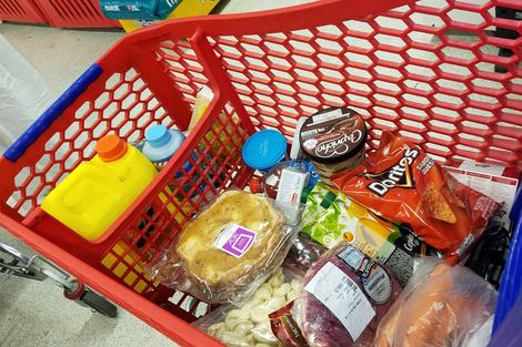 """""""La alimentación de la población no puede quedar librada a las leyes de oferta y demanda del comercio internacional"""", afirma Carlos Inal Kricas. (Fuente: Sandra Cartasso)"""