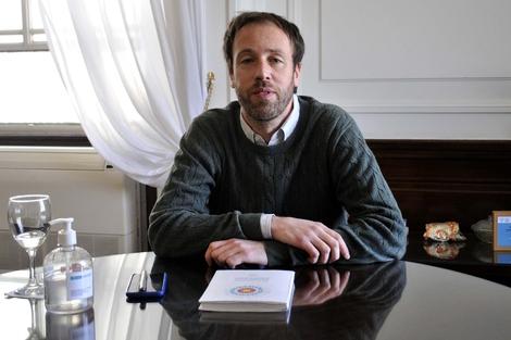 Pablo López, ministro de Finanzas bonaerense
