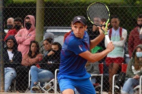 Nicolás Arreche, nuevo sancionado en el tenis argentino (Fuente: Instagram)