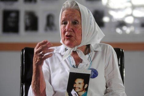 Nora Cortiñas estuvo en el 1° Encuentro Nacional y estará en el homenaje. (Fuente: Alejandro Leiva)