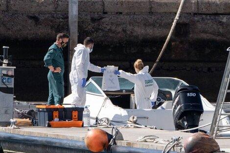 Los investigadores del caso que conmociona a España. (Fuente: EFE)