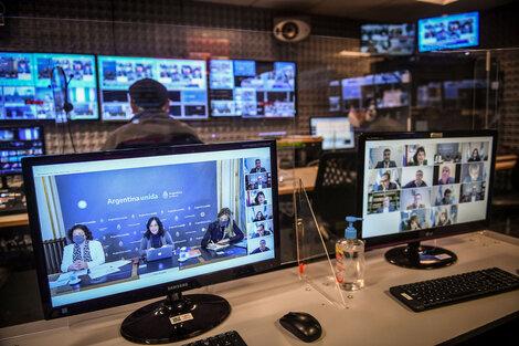 Las funcionarias del Ejecutivo expusieron ayer de forma virtual ante la Bicameral.