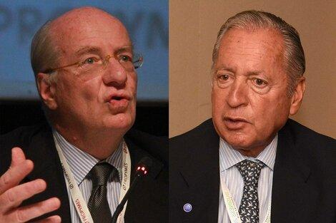Paolo Rocca y Daniel Funes de Rioja, lanzados al rol de oposición.