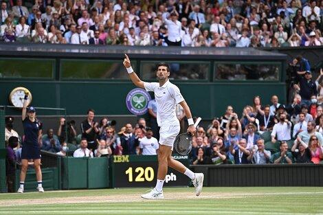Novak Djokovic ganó por sexta vez en el All England (Fuente: Wimbledon)