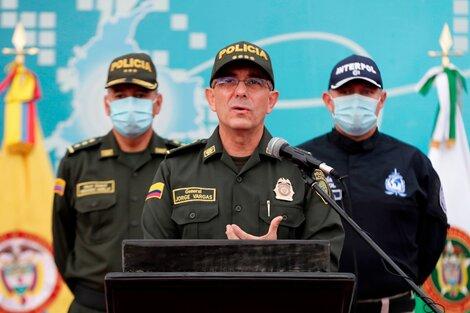 El general Jorge Luis Vargas.